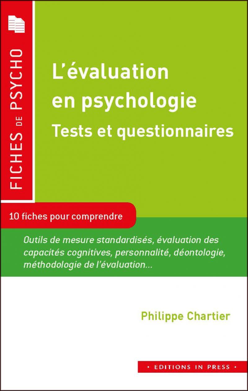 L'évaluation en psychologie